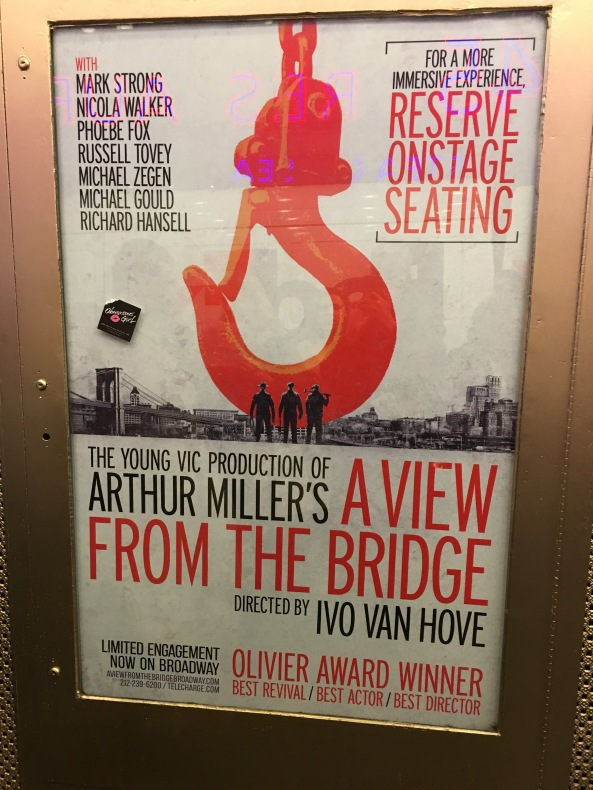 A View from the Bridge poster