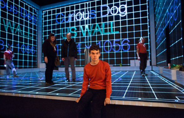 Stage design for The Curious Incident